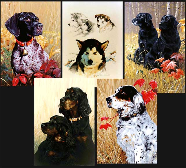 Dog Commissioned Paintings