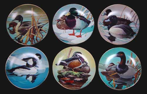 """Nature's Heritage"" Collector Plate Set"